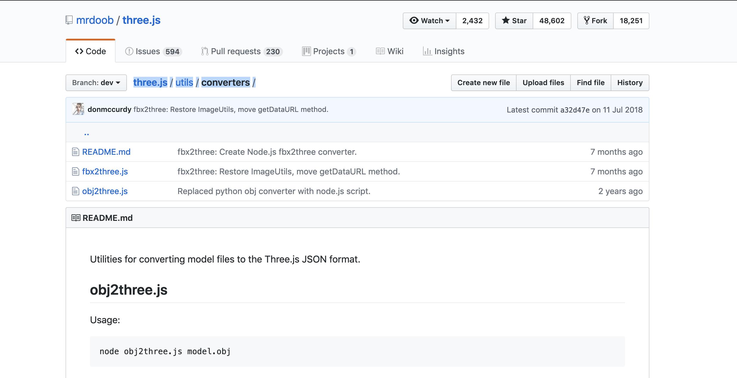 Convert a 3D Object to a ThreeJS readable format (JSON)   Niraj Meegama